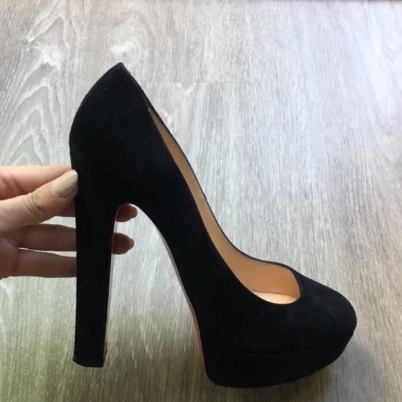 402a9807c7e Christian Louboutin Shoes - Black Christian Louboutins BiBi pumps